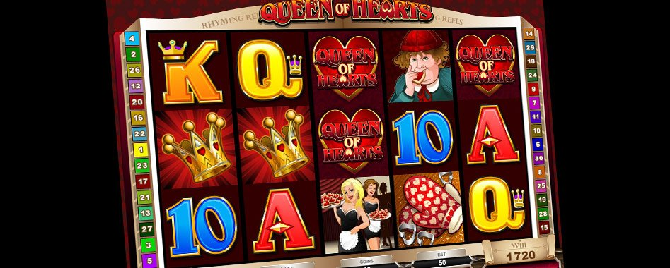 casino games queen of hearts