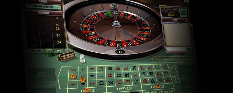 game of roulette terminology